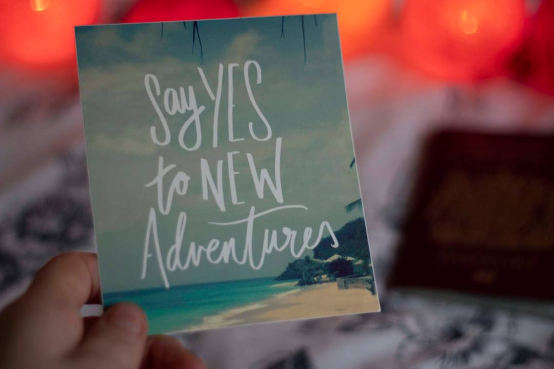 Postcard travel quote for real travellers