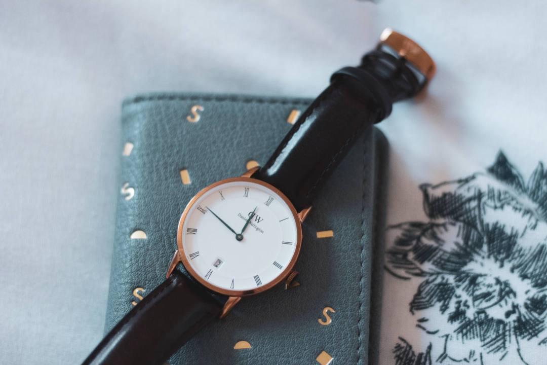 watch on purse