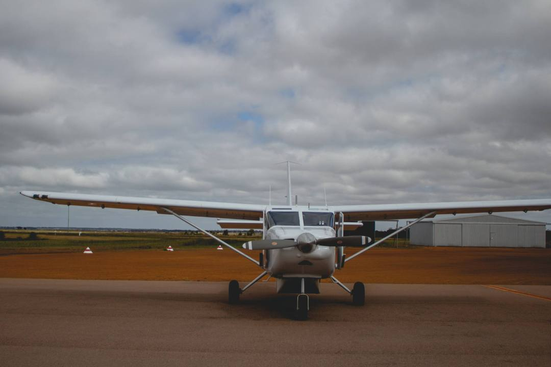 Goldfield Air Services scenic flight plane