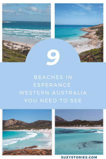 collage of beaches in Esperance WA