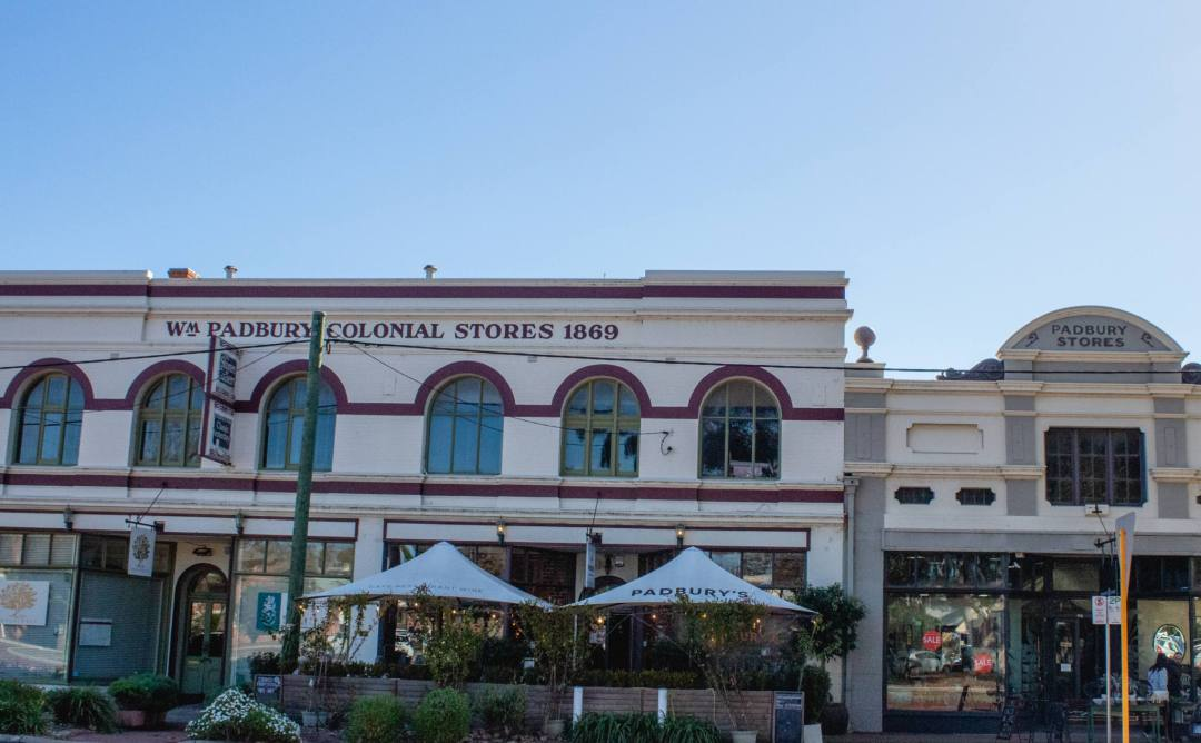colonial style shops in guildford WA