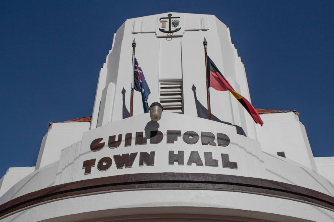 guildford town hall WA