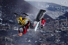 Levi LaVallee and Willie Elam Backflip X Games Aspen