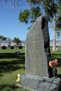 Grand View Cemetery Headstone
