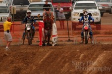 Grand Junction SuperCross Race #20 Eric Rhoten #277 Casey Rhoten Dash for Cash