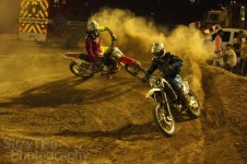 Grand Junction SuperCross Race #20 Eric Rhoten #120 Todd Bannister