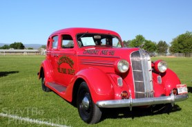 Steve & Elaine Wood - 1936 Dodge D4 Fire Car