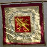 8 Verein Fahne hinten