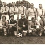 Männermannschaft der siebziger Jahre