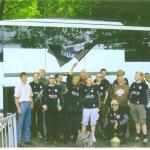 Die Gäste des FC St. Pauli mit unserem Ehrenpräsidenten Jörg Zander im Jahr 2004