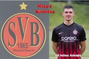 Julian Schratz @ Happy Birthday