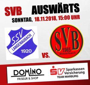 SSV Langenaubach - SV Bauerbach @ Sportplatz Langenaubach