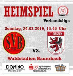 SV Bauerbach - FC Gießen II @ Waldstadion Bauerbach