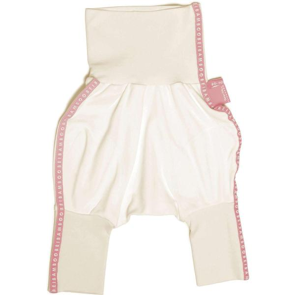 baby trousers with high waist, non-irritating design suits for atopic baby skin