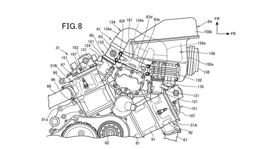 honda supercharged v twin patent 01