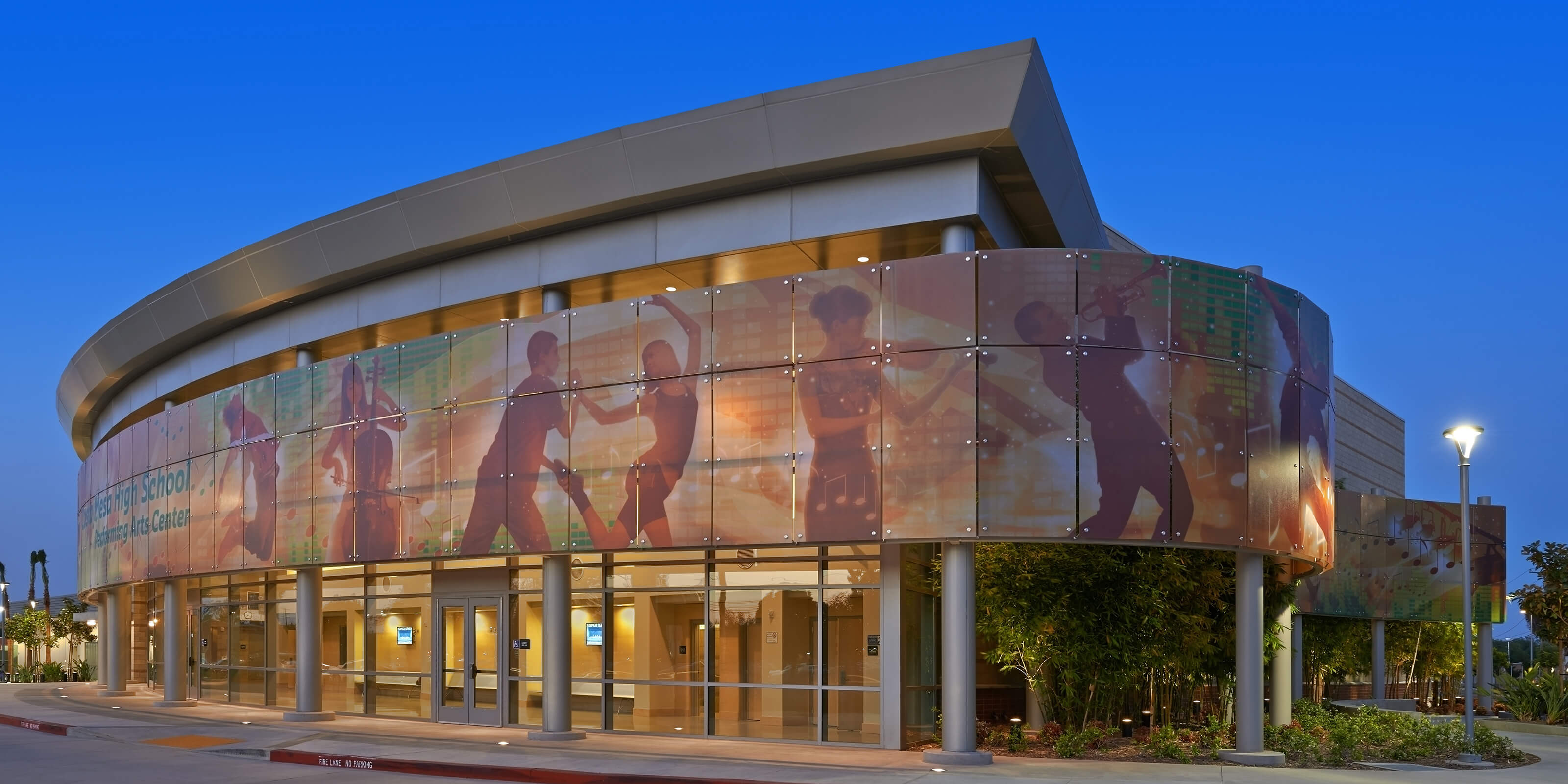 Costa Mesa High School Performing Arts Center  SVA Architects