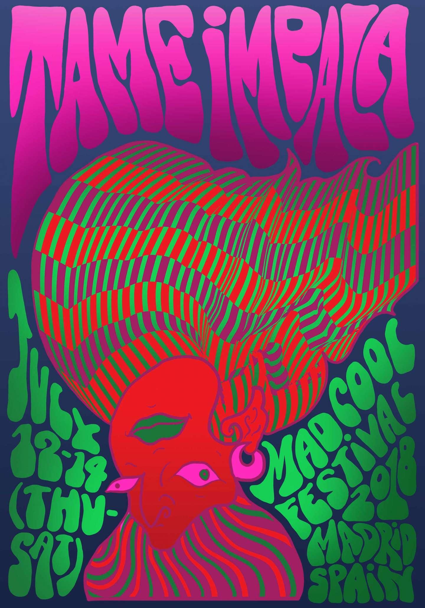 Contemporary Psychedelic Posters By Noora Manchanda Sva
