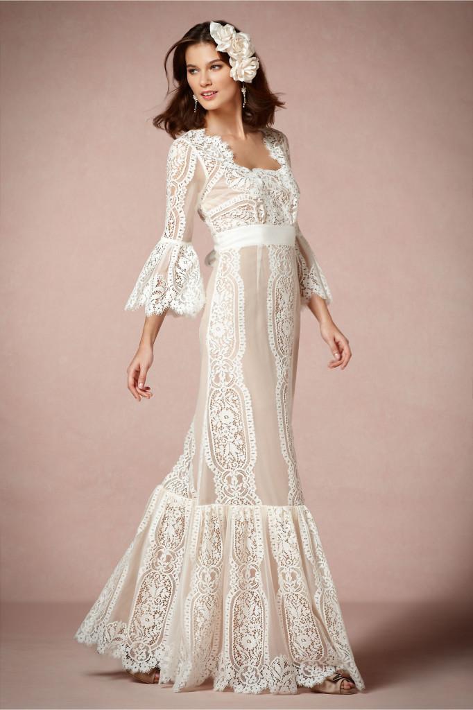 27d0dbc6232a79 Наречена в такій сукні буде виглядати оригінально і жіночно. Тканини кращі  легкі, летять, не утрудняють руху. Ці сукні з'явилися в період розквіту  хіпі.
