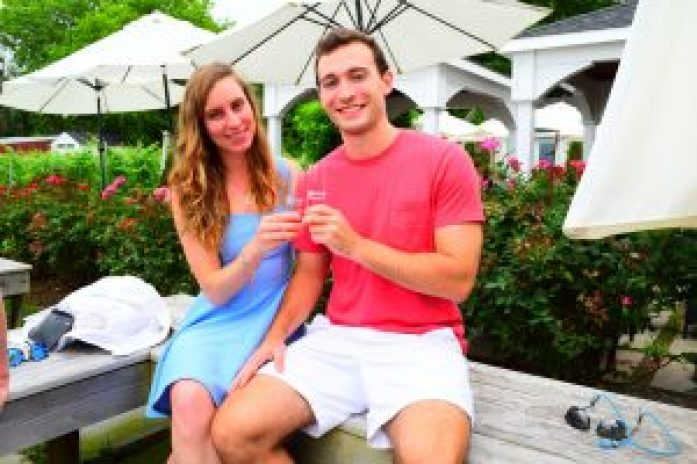 Mattebella Vineyard Long Island Wineries North Fork Blog Photography Guide to a weekend in LI New York Couple cute preppy outfit style how to dress for vineyard