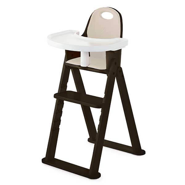 high folding chair personalized makeup chairs baby to booster bentwood svan