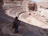 Me, in the Amphitheater, Petra