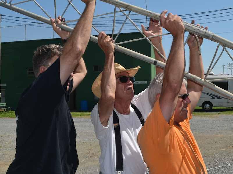 Bill Hyman, Godfrey Miller, Tom Sherwood