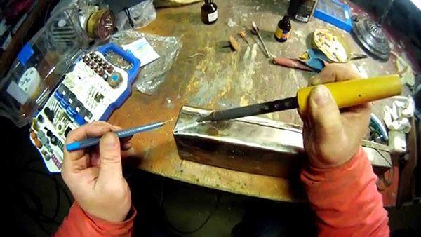 Pájení z nerezové oceli