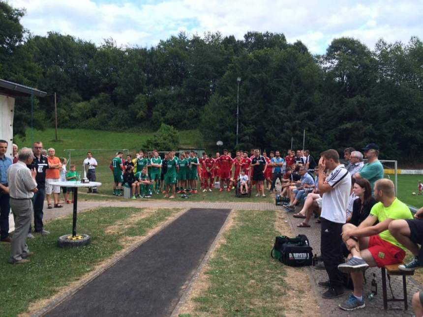 Siegerehrung Stadtpokal 2015