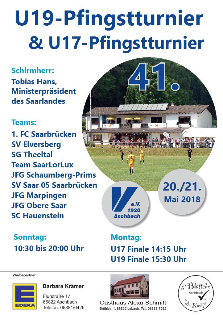 41. Pfingstturnier des SV Victoria Aschbach