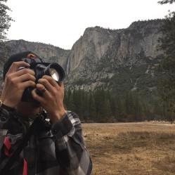 Getting the shot in Yosemite