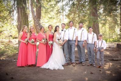 The wedding party: Meagan, Tess, Shannon, Megan, Me, Chris, Jon, Clarke, Christian, Troy