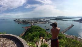 Getting the shot in Mazatlan