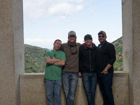 The boys. Rob, Jon, Chris, Clarke