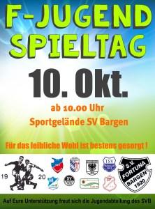 F-Jugend Spieltag 10 Okt 2015