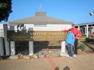 CBS & SAS at Cabrillo Monument