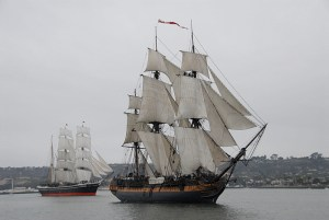 HMS Surprise & Star of India