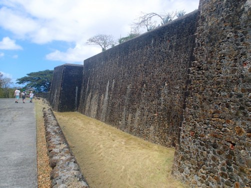 First you go down into the moat then scale the walls and that only gets you to the inner fort - I'd call it a losing proposition