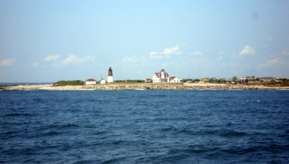Cape Judith welcomed us to Newport