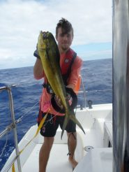 Titan with Mahi Mahi catch #2.