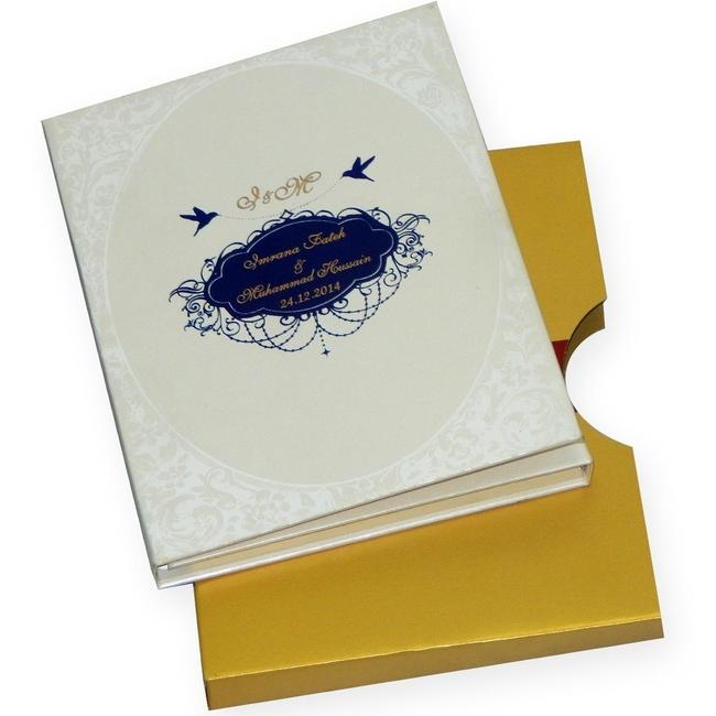Ravish Kapoor Wedding Invitation Box Radha Krishna Painting