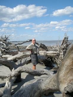 Mike on Driftwood Beach