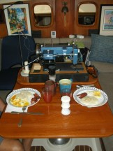 breakfast with the Sailrite machine