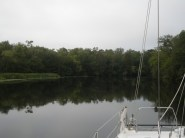 side trip up Prince Creek, Waccamaw River
