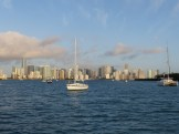 morning light, Miami skyline