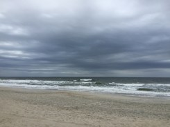 grey day at Carolina Beach