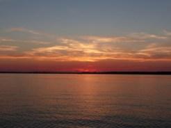 sunset, Pax River NAS