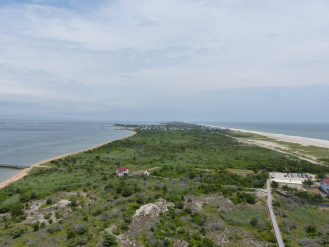 Fire Island Light, view to east