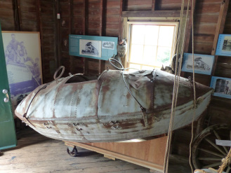 U.S. Life Saving Station surf boat