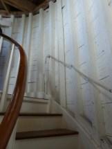 Cape Pogue Light, staircase