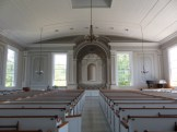 Old Whaling Church, interior